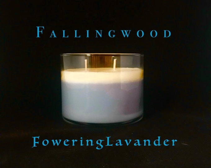Flowering Lavender Soy Candle