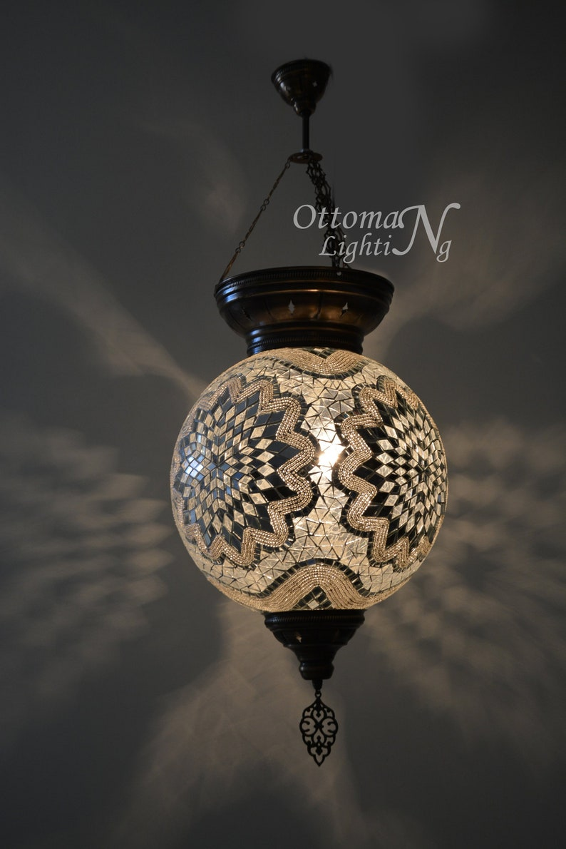 mosaic lamp bohemian lamp ottoman lamp lighting turkish lamp lighting Extralarge turkish Hanging lamp stunning lantern morrocan decor