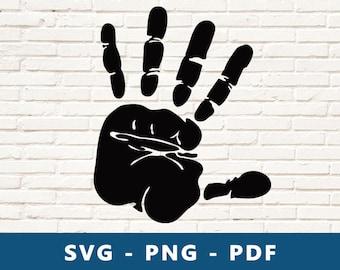 Hand Svg Etsy