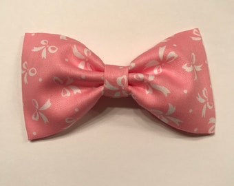 Pink & White Bows bow