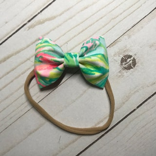 On Parade Lilly Pulitzer Bow