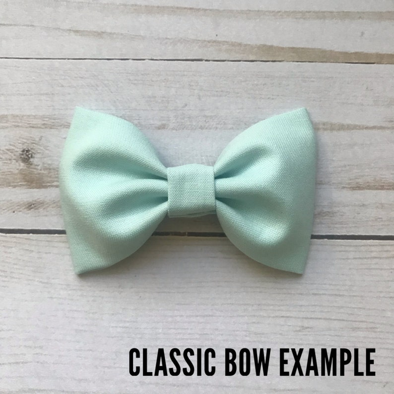 Bayside Blue Under the Moon Bow 8 Styles to Choose From!