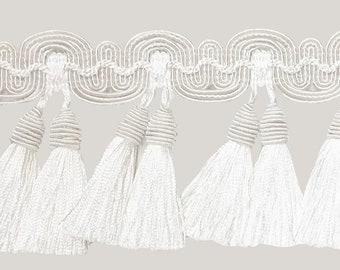 1 Yard Different Colours Diamante Fringe Bridal Tassel Trim Curtain Edge Lace