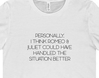 Romeo And Juliet T Shirt