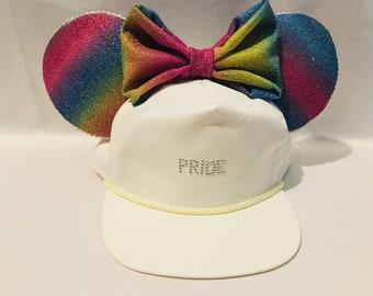 Pride Minnie Ears Hat