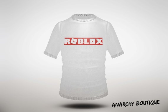 Roblox Logo T Shirt Image Instant Download Printable Sticker Iron On Transfer Digital File Gift - r roblox t shirt