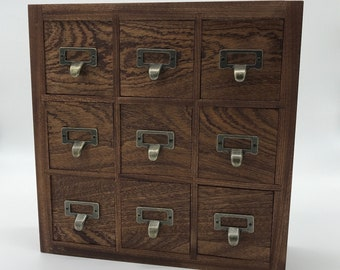 Superieur Solid Wood Apothecary Cabinet, Essential Oil Cabinet, Small Goods Storage,  Custom, Rowan And Wych