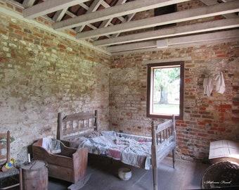 Slave Housing Photo - Magnolia Plantation, Slave Housing Charleston South Carolina   RebeccaFreedPhotos