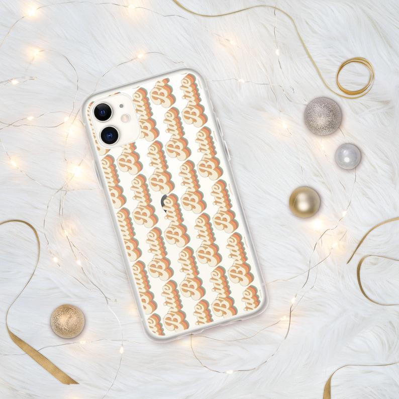 Retro Bride iPhone Case