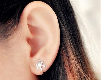Jewelry & Accessories Earrings Snowflake U Shape Clip Cuff Earring No Ear Hole For Women Korean Ladies Fashion Girl Female Ear Accessories Birthday Gift