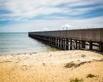 Fine Art Print - Giclee. Brighton Sea Baths, Vic. Australia.