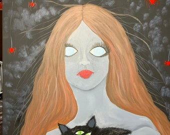 d817bd470adf1 3 eyed cat | Etsy