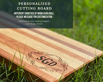 Personalized Cutting Boards - Large Cutting Boards - Cutting Boards for meat - Custom size cutting boards