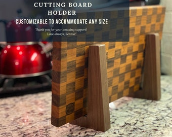 Cutting Board Stand, Display Stand for Cutting Boards