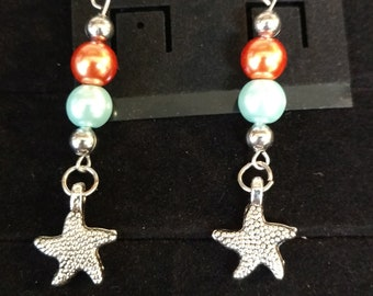 Summertime Starfish Earrings