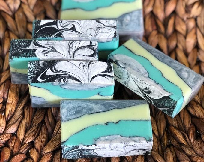 Featured listing image: Eucalyptus Spearmint Soap
