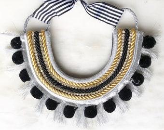 Glamour Bib Necklace