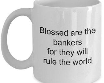Banker Coffee Mug Bankers Mugs