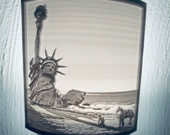 Fright Lights - Planet of the Apes - Liberty Lithophane Nightlight