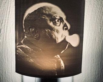 Fright Lights - Uncle Fester Addams Family Lithophane Nightlight