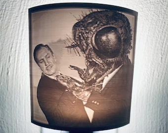Fright Lights - Vincent Price and The Fly Lithophane Nightlight