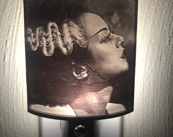 Fright Lights - Bride of Frankenstein Lithophane Nightlight