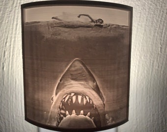 Fright Lights - Jaws Lithophane Nightlight