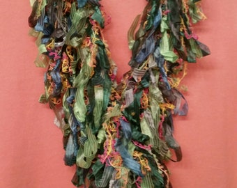 CLOSEOUT Hairpin Lace Scarf in multiple colors