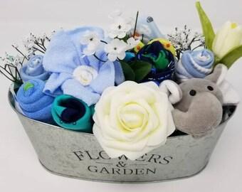 Baby boy gift basket etsy negle Gallery