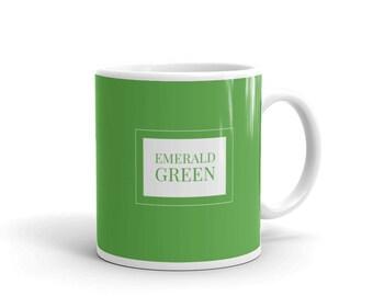 Emerald Green - Artist Colour Pigment Mug