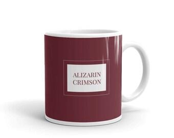 Alizarin Crimson - Artist Colour Pigment Mug