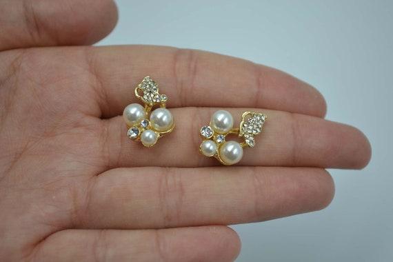 5pcs Imitation pearl Charm Pendants Craft Jewelry Making DIY