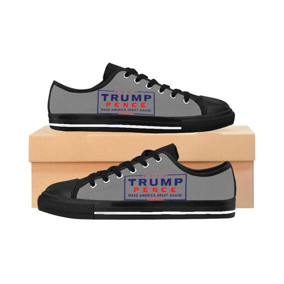 Chaussures de sport pour femmes, Trump Pence Pence Pence chaussures, chaussures sur mesure, chaussures uniques, chaussures républicains, Président, | Luxuriante Dans La Conception  63c12c