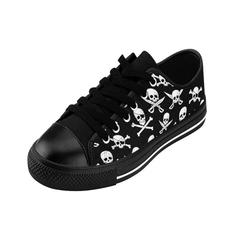 Men/'s Skull Swords And Cross Bones Shoes Men/'s Sneakers