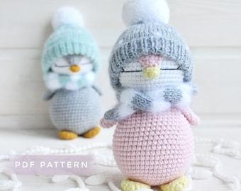 Amigurumi Penguin Crochet PATTERN, PDF Crochet Pattern, English