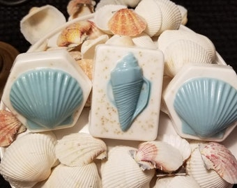 Set Of 3 Sea Shell Soap