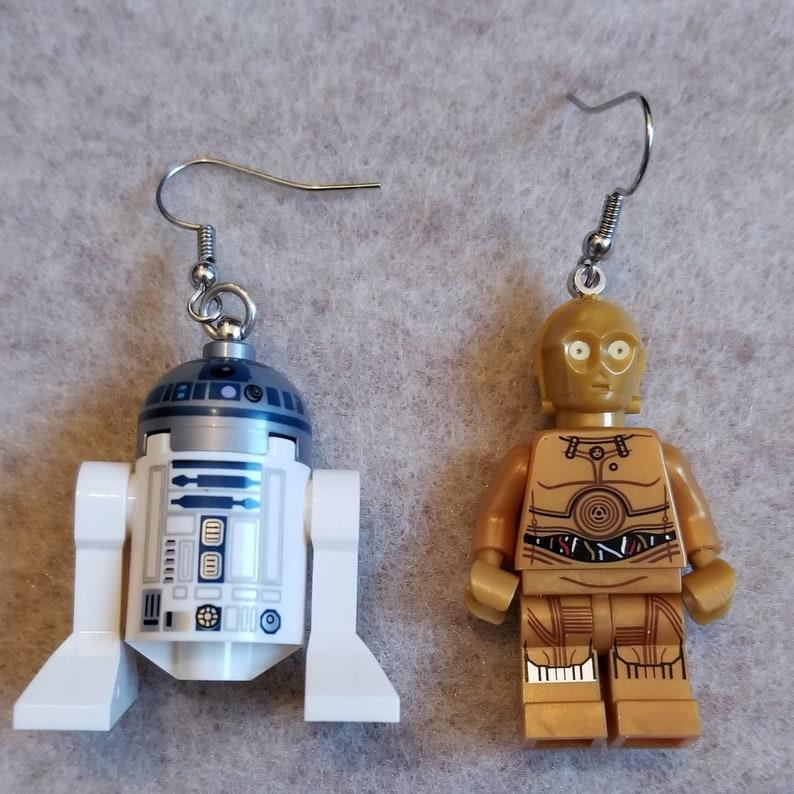 Etsy lego earrings