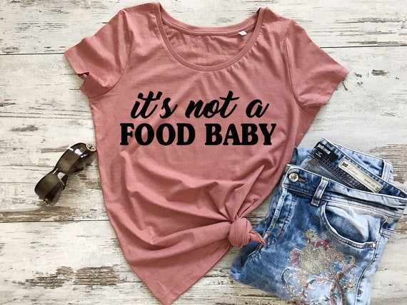 1b89633298c0 It's not a food baby pregnancy announcement shirt | Etsy