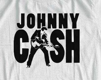 Johnny Cash T-shirt  | Audiophile Shirt | Shirt For Men, Woman, & Kids