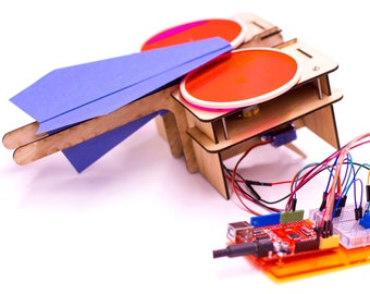 DIY Programmable Paper Airplane Launcher