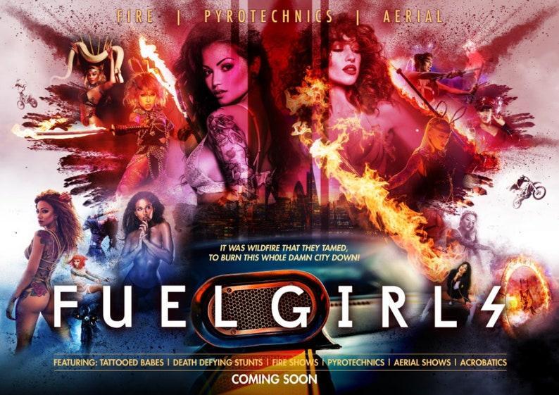 Fuel Girls A3 Landscape Poster image 0