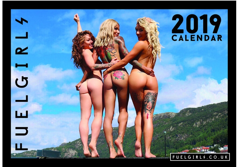 Fuel Girls Official 2019 Calendar : New and in Stock image 0