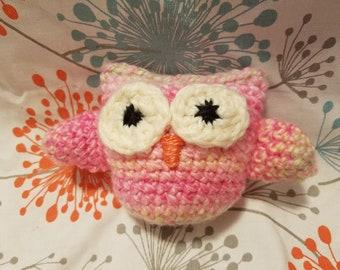 Pink Owlette Stuffy