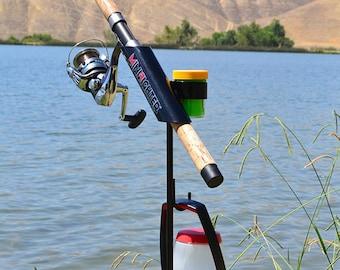 SamsOutdoorsman MiniFighter Fishing Rod Holder//RED