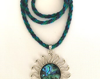 Oceanside Kumihimo Necklace
