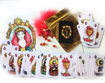 Oracle of 52, 58x89mm format cards