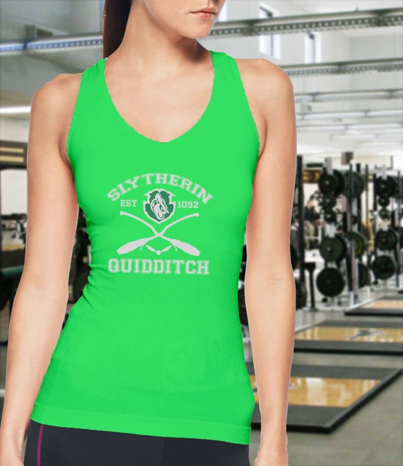 b35920e76d34d Harry Potter Quidditch Slyterin Tank Top