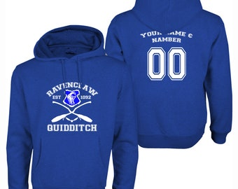 Harry Potter Quidditch Ravenclaw Hoodie