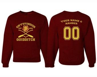 Harry Potter Quidditch Gryffindor Sweatshirt