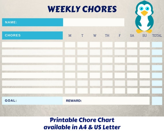 This is a photo of Printable Reward Charts for Kids within monthly